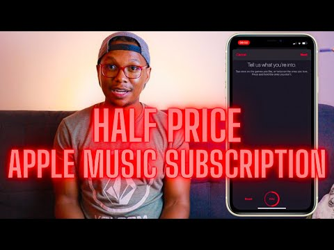 How anyone can get the discounted apple music student subscription