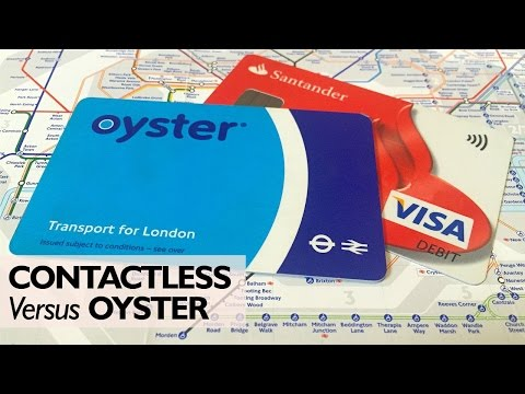 Contactless fares can be cheaper than oyster