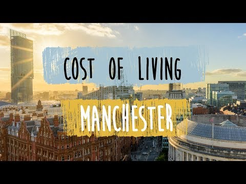 How much does it cost to live in manchester?
