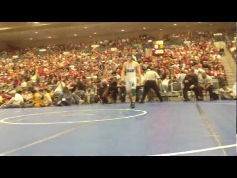 Lhsaa 2012 state wrestling finals 138lb division ii