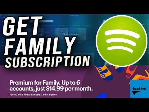 Spotify - how to change to family account subscription