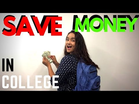 How to save money in college (4 life hacks)