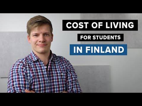 How much does it cost to live in finland as a student