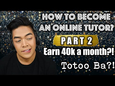 How to become an online tutor?   rarejob   earn 40k per month?!   totoo ba?!   xxoovince