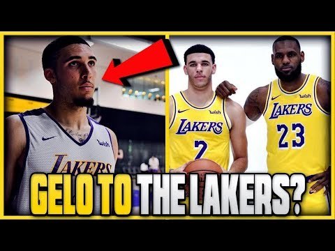 Should the lakers sign liangelo ball to a 10 day contract now the season is over?