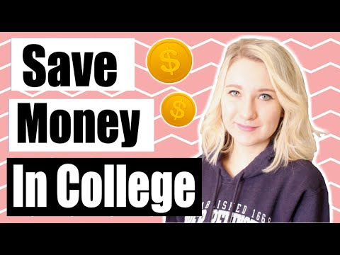 How to save money as a college student!   money saving tips