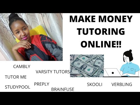 Make money as an online tutor!!#carey`s thoughts.