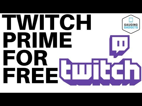 How to get twitch prime for free - twitch tutorial
