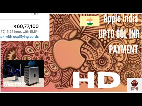 Apple store online launched in india with prices upto 60l inr in india for the mac pro !