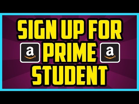 How to sign up for amazon prime student 2017 - how to get amazon prime student free trial 6 month