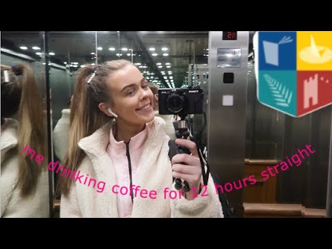 Day in the life of a college student ft too much coffee | maynooth university