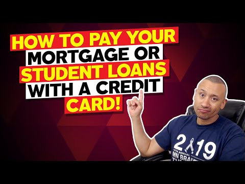 How to pay your mortgage or student loan payments with your credit card   velocity banking strategy