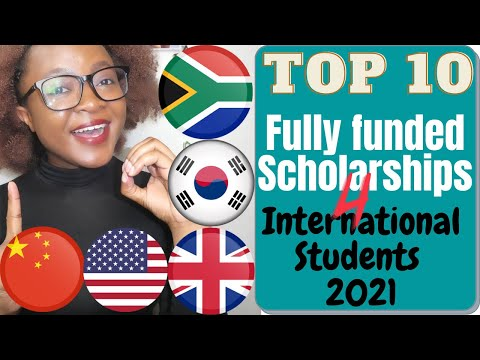 Top 10 fully-funded scholarships for international students in 2021 that you can apply to right now