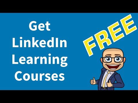 Free linkedin courses (without linkedin premium subscription) 2019, by anas almarie