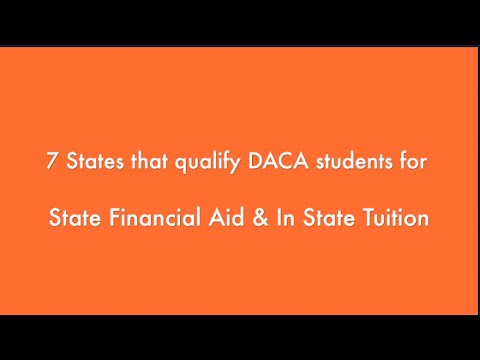 Can undocumented/daca students apply to financial aid? applying to financial aid undocumented/daca