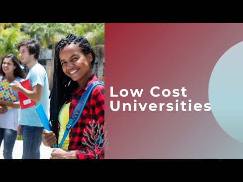 Low cost universities for international students | dr. neva