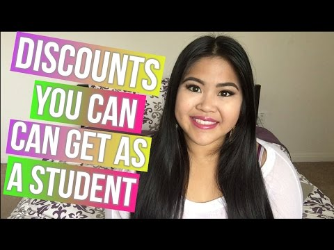 Back to school   discounts you can get as a student