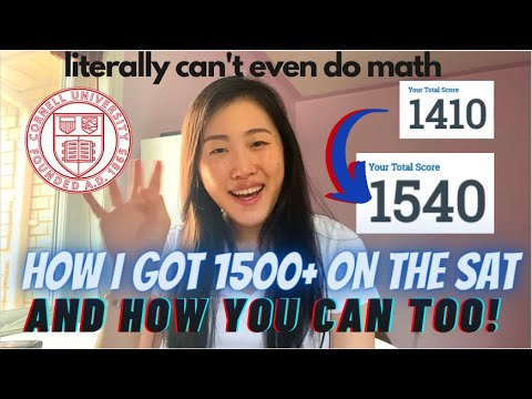 How i scored a 1540 on the sat (with subpar braincells and no tutor)