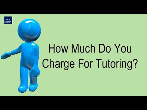 How much do you charge for tutoring?