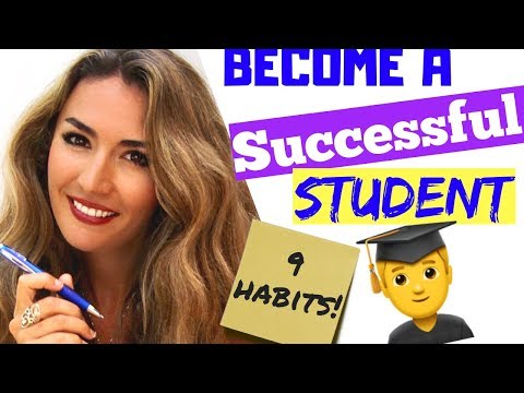 How to be a successful student- 9 habits