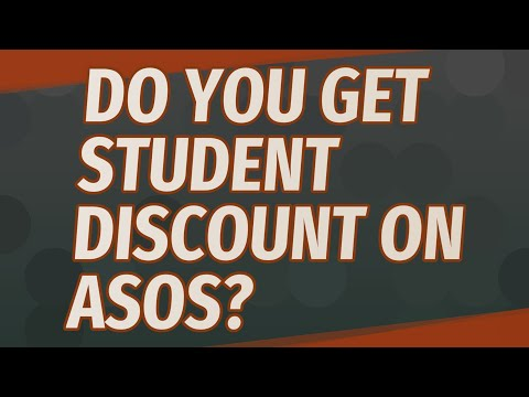 Do you get student discount on asos?