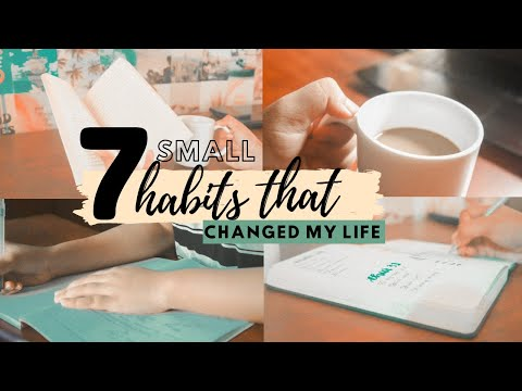 7 small habits that have changed my life as a student 2021 | how to improve your productivity