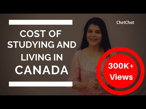 Cost of studying & living in canada for international students   tuition fees in canada   chetchat