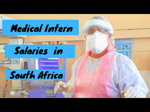 Medical intern salary in south africa (2019/2020)