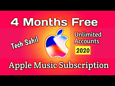 How to get apple music for free | apple music free subscription code 4 months free | tech sahil