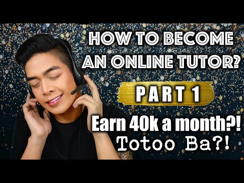 How to become an online tutor?   earn 40k per month?!   totoo ba?!   rarejob   xxoovince