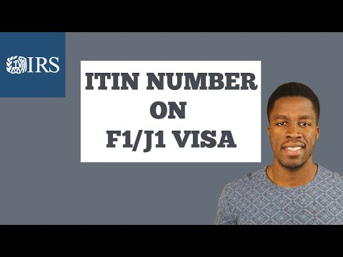 How to get an itin number as an international student