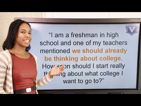 How early should you start thinking about college?