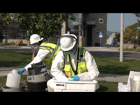 Colorado state university: covid-19 wastewater testing
