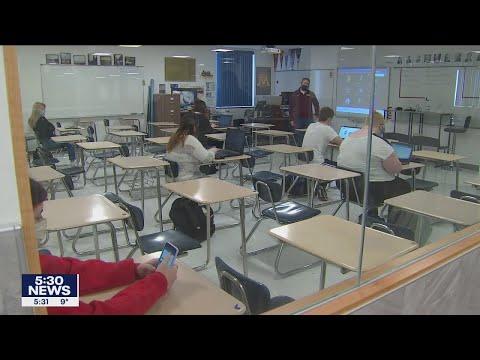 St. francis middle, high school students return to classroom   fox 9 kmsp