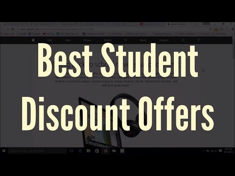 Best student discounts offers with .edu email id