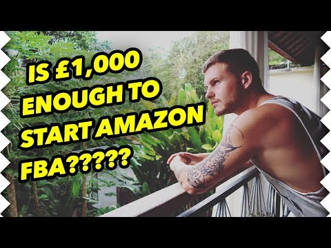 Amazon student starts fba with under £1,000 invested!!! see his results