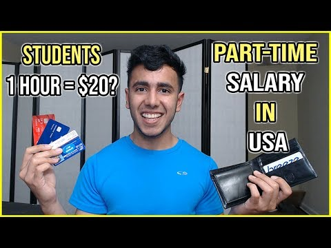International student salary in usa | part time & full time work