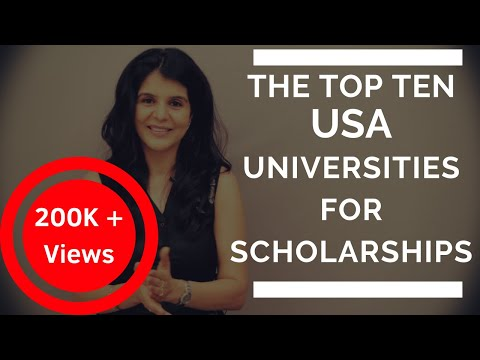 Top 10 universities in usa where you can study for free | study in usa for free | scholarships