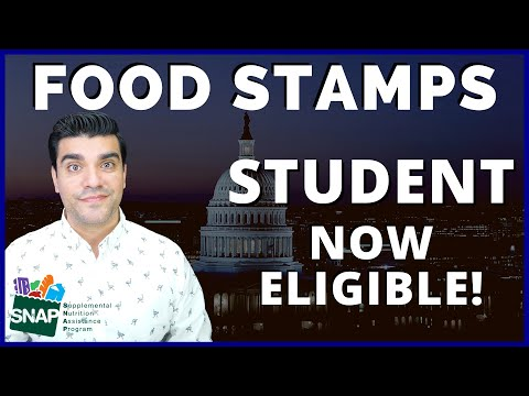 Snap food stamps benefits: snap ebt food stamps expands snap eligibility to include students.