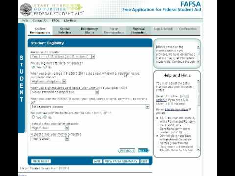 How to fill out the fafsa if you're an independent student