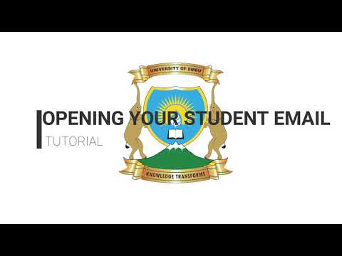 How to access your student email address