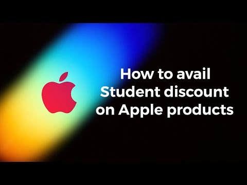 How to avail student discount on apple products