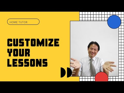 Home tutor: what materials to use to help your students?