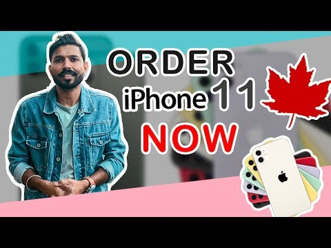 How students can pre order iphone 11 and iphone 11 pro in canada | english vlog