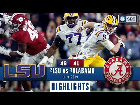 Lsu vs. alabama highlights   tigers take down tide in instant classic   cbs sports