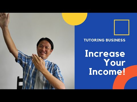 Tutoring business: how to increase your income as a private tutor?
