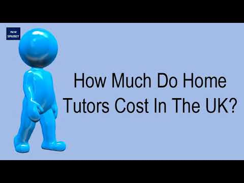 How much do home tutors cost in the uk?