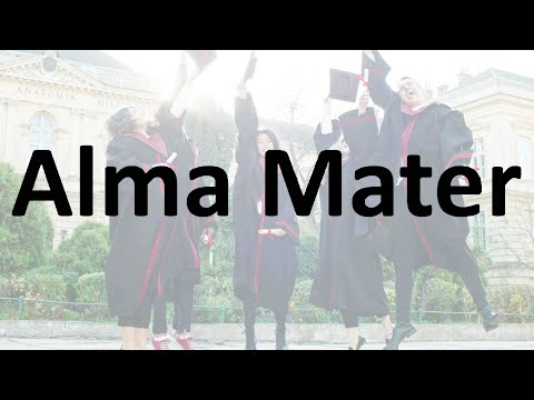 Alma mater - meaning, pronunciation   how to say it?