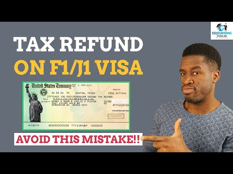 Tax return for international students in 2021 (biggest tax mistake to avoid!)