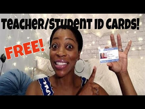 Friday favorites | free teacher/student id cards!! | 2019